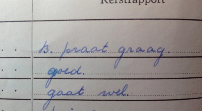 schoolrapport 1e klas